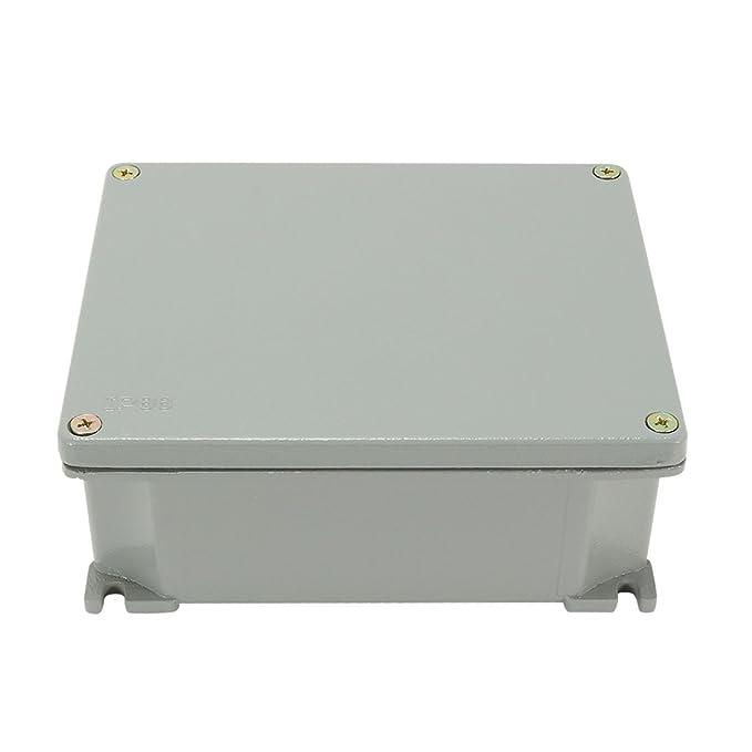 Aexit Caja de conexiones de aluminio de 5.5 x4.3 x2.3 ...