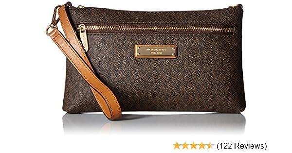 bb2eb386fd MICHAEL Michael Kors Signature Jet Set Large Wristlet  Handbags  Amazon.com