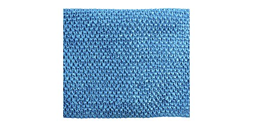 Belagio Enterprises Crochet Trim Embellishment, 10-Yard, Teal