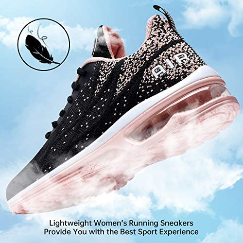MEHOTO Womens Fashion Tennis Walking Shoes Sport Air Fitness Gym Jogging Running Sneakers (US5.5-10 B(M)…