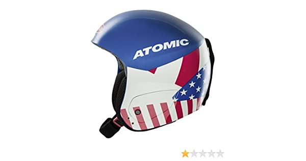 Amazon.com: Atomic Redster Marcel Replica Alpine Race Ski Helmets (Blue - L): Sports & Outdoors
