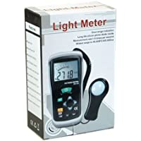 Ruby Electronics DT-1309 Professional Digital 40K FC Foot-Candle Meter 400K Lux Light Luxmeter with USB interface