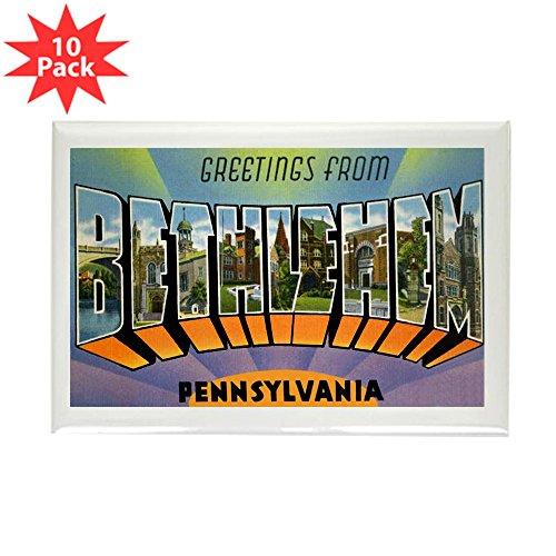 CafePress - Bethlehem Pennsylvania Greetings Rectangle Magnet - Rectangle Magnet, 2