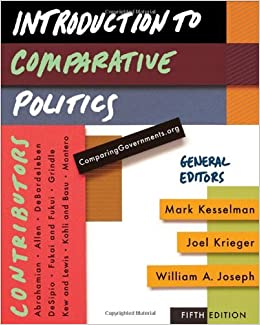 Book Introduction to Comparative Politics by Kesselman Mark Krieger Joel Joseph William A. (2009-02-10)
