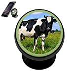 dash board notepad - Cow Magnetic Phone Car Mount Holder 360 Degree Rotation, Noctilucent Function Universal Car Phone Dashboard Mount, Cell Phone Car Cradle for iPhone,Samsung and other Devices (Black)