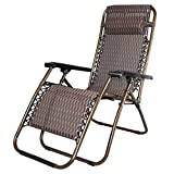 Kumaka Folding Zero Gravity Lounge Chair Reclining Chair with Adjustable Headrest for Patio Garden Beach Camping Office outdoor fishing garden chairs