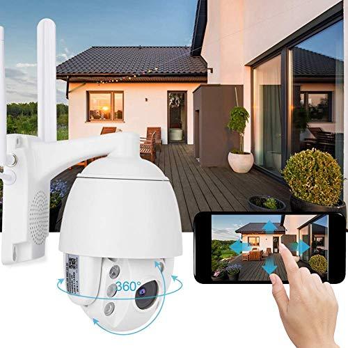 3G/4G 1080P Security Surveilance Camera System CCTV, Bi-Directional Audio Dome IP Camera, Night Vision Outdoor Security Camera Auto Focus(US Plug)