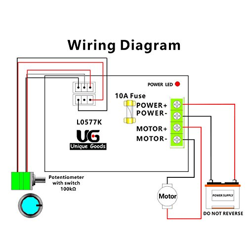 Dc Motor Potentiometer Diagram - Wiring Diagrams on