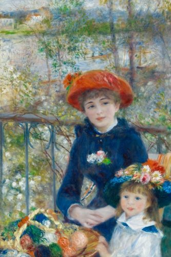 Pierre-Auguste Renoir's 'The Two Sisters, On the Terrace' Art of Life Journal (L (Terrace Auguste Renoir Pierre On The)