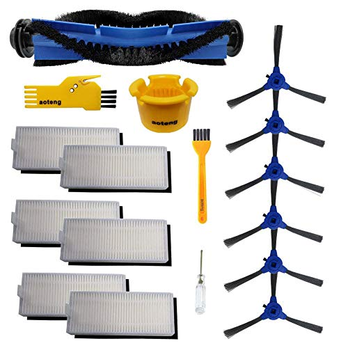 (aoteng Accessory Kit for Eufy RoboVac 11S RoboVac 30 RoboVac 30C RoboVac 15C Robot Vacuum Cleaner Replacement Parts (Set 1))