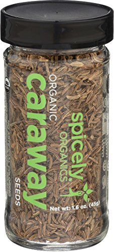 SPICELY Jar Organic Caraway Seeds, 1.6 OZ