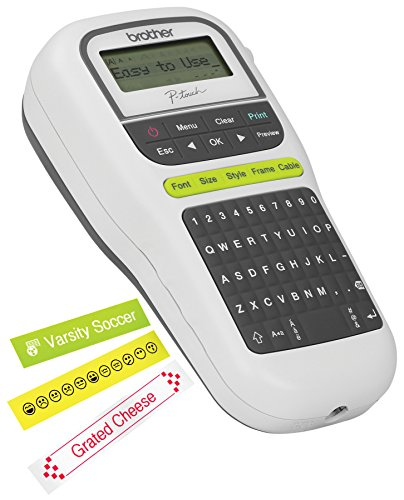 brother p touch pth110 easy portable label maker With buy label maker online
