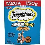 Temptations Jumbo Stuff Cat Treats Savory Salmon Flavor, (10) 5.3 Oz. Pouches For Sale