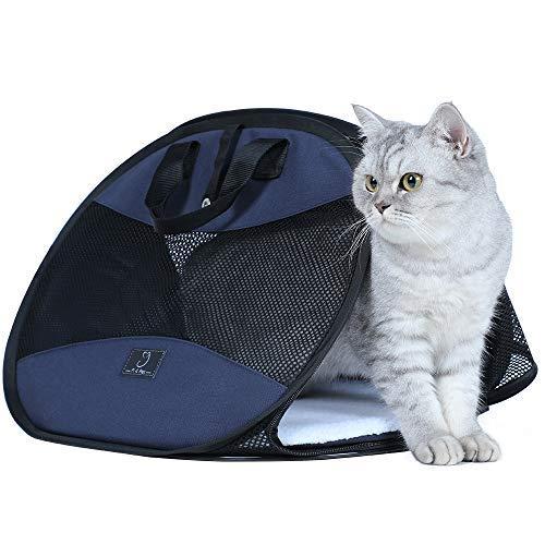 A4Pet Soft Sided Super Lightweight Cat Carrier for Travel, 1