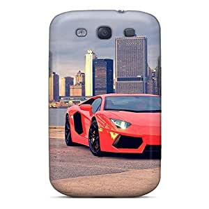New Lamborghini Aventador Lp700 4 Tpu Case Cover, Anti-scratch GqGqswp1463csuks Phone Case For Galaxy S3