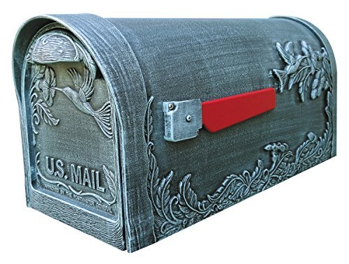 Special Lite Products SCB-1005-VG Hummingbird Curbside Mailbox, Verde Green ()