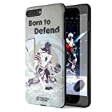 Hockey Protective Phone Case for iPhone 7 Plus. Light Weight, Slim Fit, Anti Smudge, Tough shell. Design in France exclusively for Sensocase