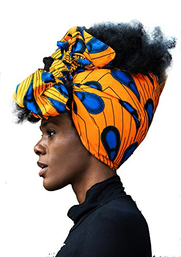 - African Head Wrap HongyuAmy Extra Long 72