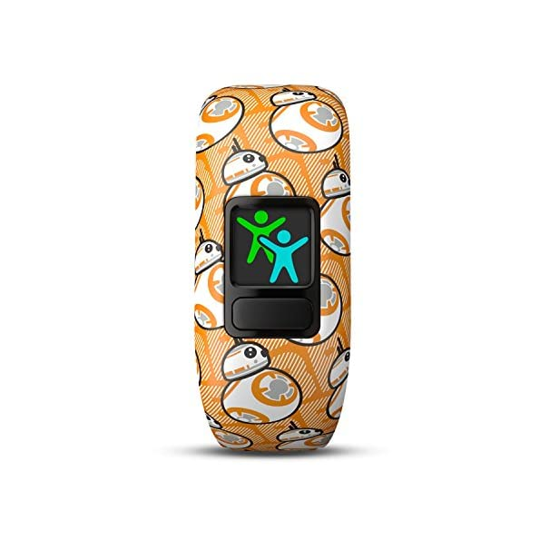 Garmin-Vivofit-Jr2-Activity-Tracker-per-Bambini-Cinturino-Regolabile-Star-Wars-BB-8-Arancione-4-anni