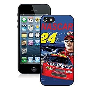 Jeff Gordon Black Hard Shell iPhone 5 5S Phone Case