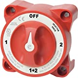 Blue Sea Systems 9002E, E-Series Selector Battery Switch with Afd