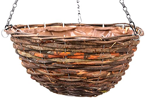 SuperMoss (29705) Wood Woven Baskets - Round Style, Tahoe 14