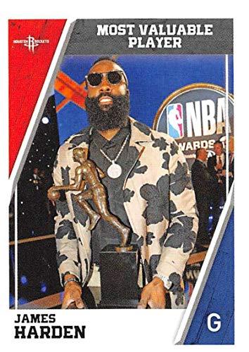 2018-19 Panini NBA Stickers Basketball #460 James Harden Houston Rockets MVP