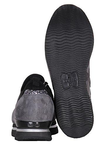 Zapatillas Negro HXW2220V620EBUKG56 Hogan Gamuza Mujer Gris zqY8zFRw