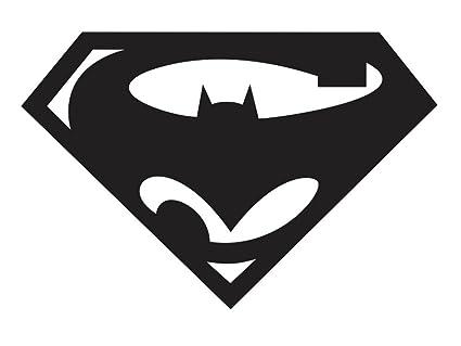 Amazon Black Batman Vs Superman V2 Decal Window New Sticker