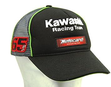 5762a239286 Kawaaski World Superbike Replica Team Hat Jonathan Rea  65  Amazon ...