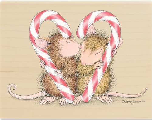 House Mouse Mounted Rubber Stamp, Candy Gram Stampabilities House Mouse