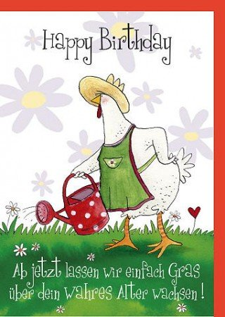 Toll Lustige A4 Geburtstagskarte Gut In Schuss