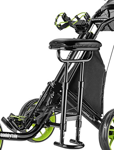 Best Price Caddytek Removable Seat CaddyLite EZ - Seat Only, Black