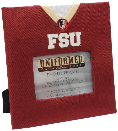 (UNIFORMED Florida State University Picture Frame, 4 by 6-Inch )