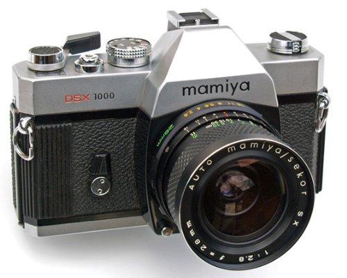 Mamiya MSX 1000 35mm SLR Film Camera with 55mm f1.8 lens from Mamiya