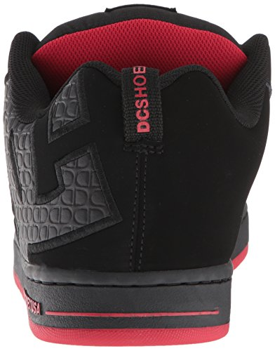 En black Paire red Chaussures Shoe Sport Dc Graffik De Pour Black Homme Shoes D0300529 Nubuck Court q1RZXP