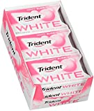 Trident White Sugar Free Gum (Minty Bubble, 16-Piece, 9-Pack) For Sale