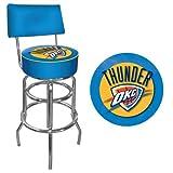 NBA Oklahoma City Thunder Padded Swivel Bar Stool