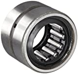 "Koyo HJ-122016.2RS Needle Roller Bearing, Heavy Duty, HJ Type, Open End, Double Sealed, Oil Hole, Steel Cage, Inch, 3/4"" ID, 1-1/4"" OD, 1"" Width, 5100rpm Maximum Rotational Speed"