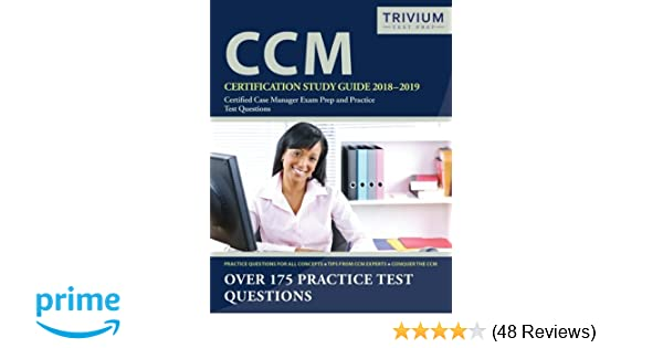 CCM Certification Study Guide 2018-2019: Certified Case Manager Exam ...