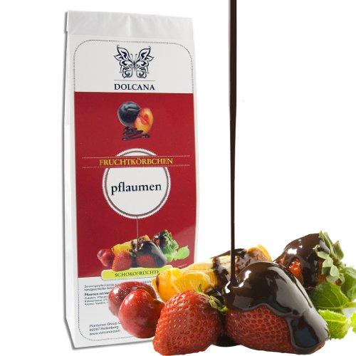 Dolcana Schokofrüchte - Pflaumen in Vollmilchschokolade, 1er Pack (1 x 150 g Packung)