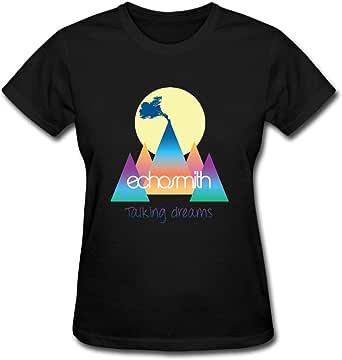 Duanfu Echosmith Talking Dreams Women's Cotton Short Sleeve T-Shirt
