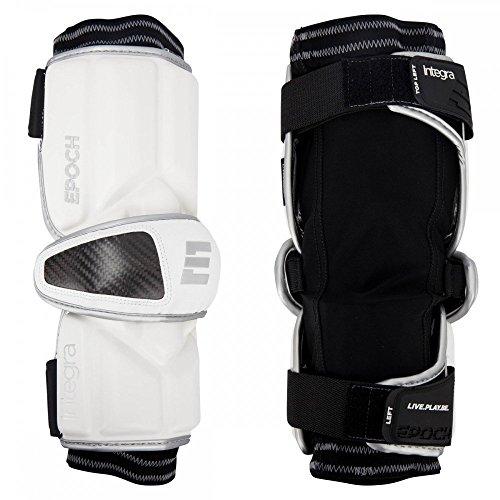 Elbow Int (Epoch Lacrosse Integra Arm Guards for Attackmen (Medium) (White))