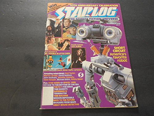 Celebration Short - Starlog #108 Jul 1986, Short Circuit, 10th Anniversary Celebration