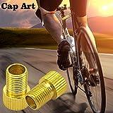Cap Art Bike Presta Valve Adapter,Inflate Tire