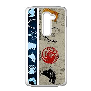 DAHAOC Game Of Thrones Cell Phone Case for LG G2
