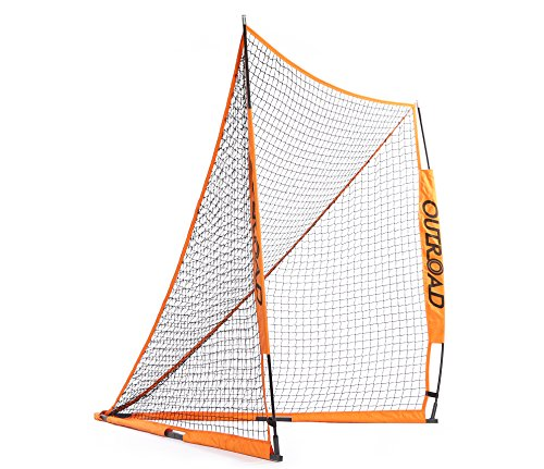 OUTROAD 6x6 Legitimate Folding Lacrosse Goal Collapsible for Practicing Shooting Training