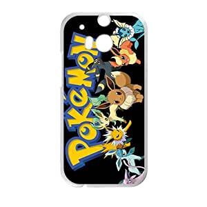 Anime cartoon Pokemon durable Cell Phone Case for HTC One M8 by icecream design