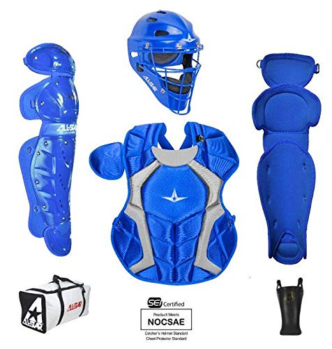 All-Star Youth Player's Series Catcher Kit (9-12) Ages 9-12 Royal