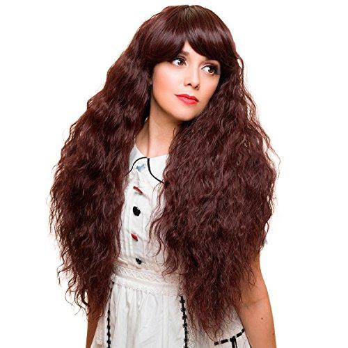 Gothic Lolita Wigs® Rhapsody™ Collection - Black Mahogany Burgundy Mix -00509 -